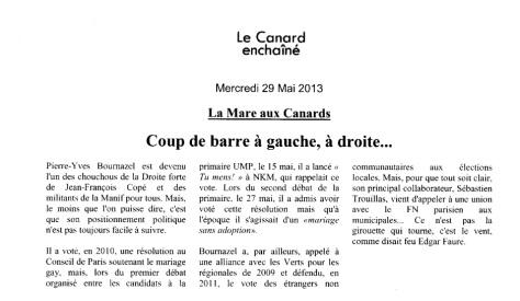 Pierre-Yves Bournazel La Girouette (dixit le Canard Enchaîné)