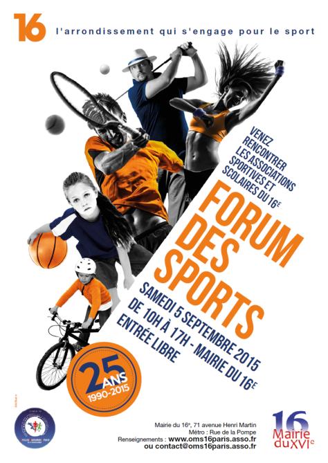 Forum des Sports - Samedi 5 septembre 2015