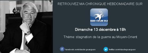 Radio chalom 13 decembre