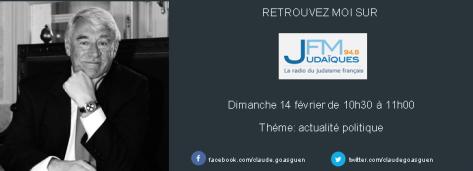 Judaique FM 14 fev