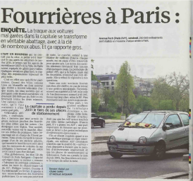 fourriere à Paris